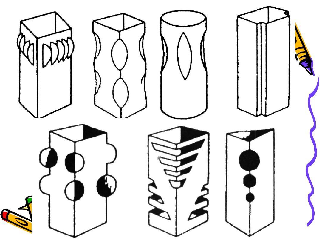 立体构成制作1图片