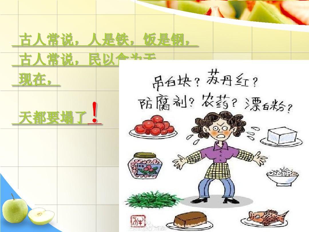 食品安全ppt图片