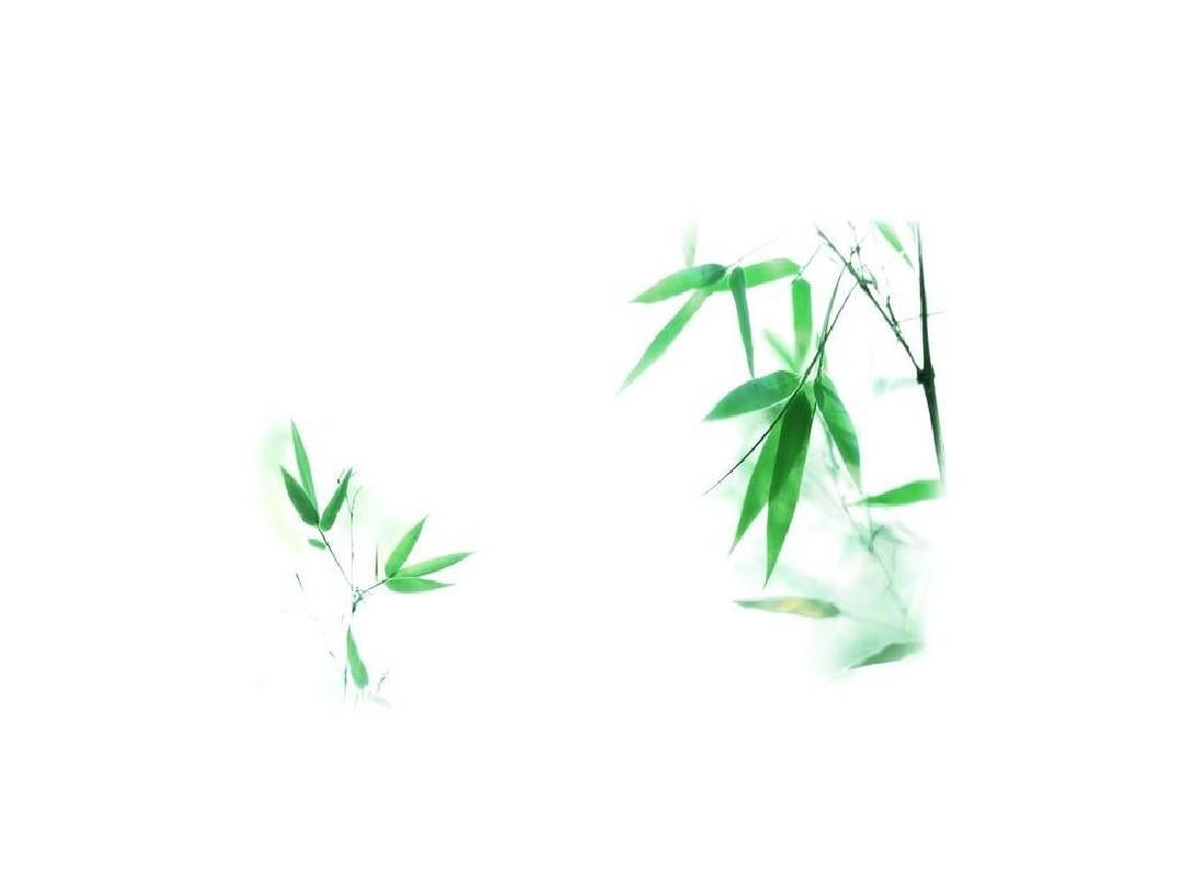 中国风系列ppt模板背景之竹轴卷书系列图片