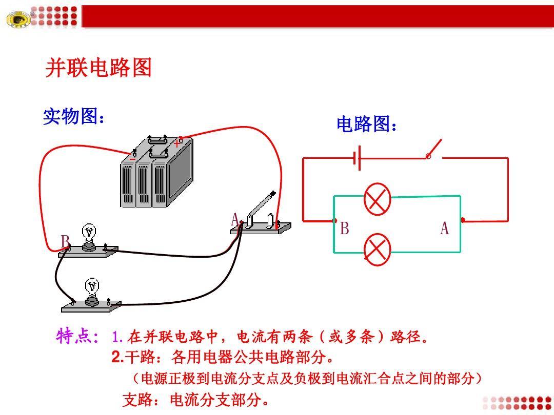 串聯和并聯電路ppt圖片