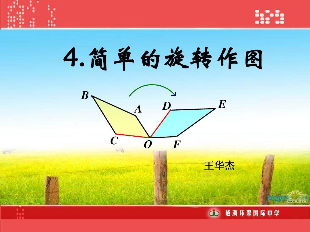 简单的旋转作图1