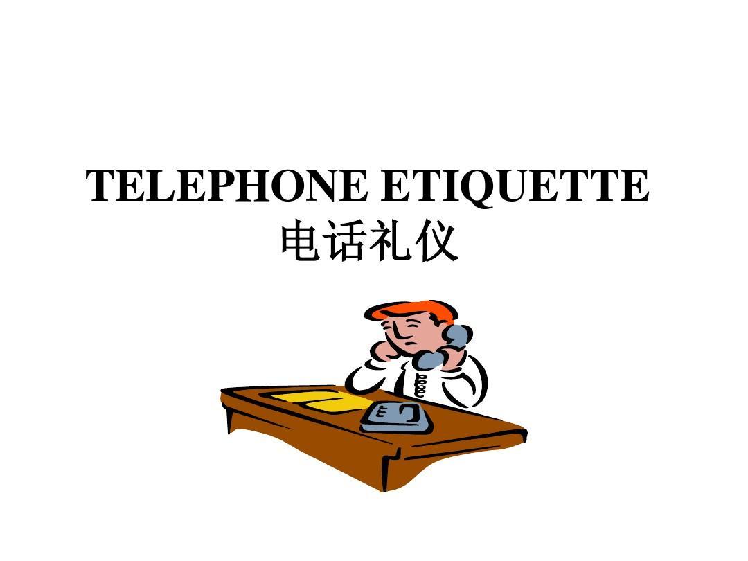 telephone etiquette ppt word. Black Bedroom Furniture Sets. Home Design Ideas