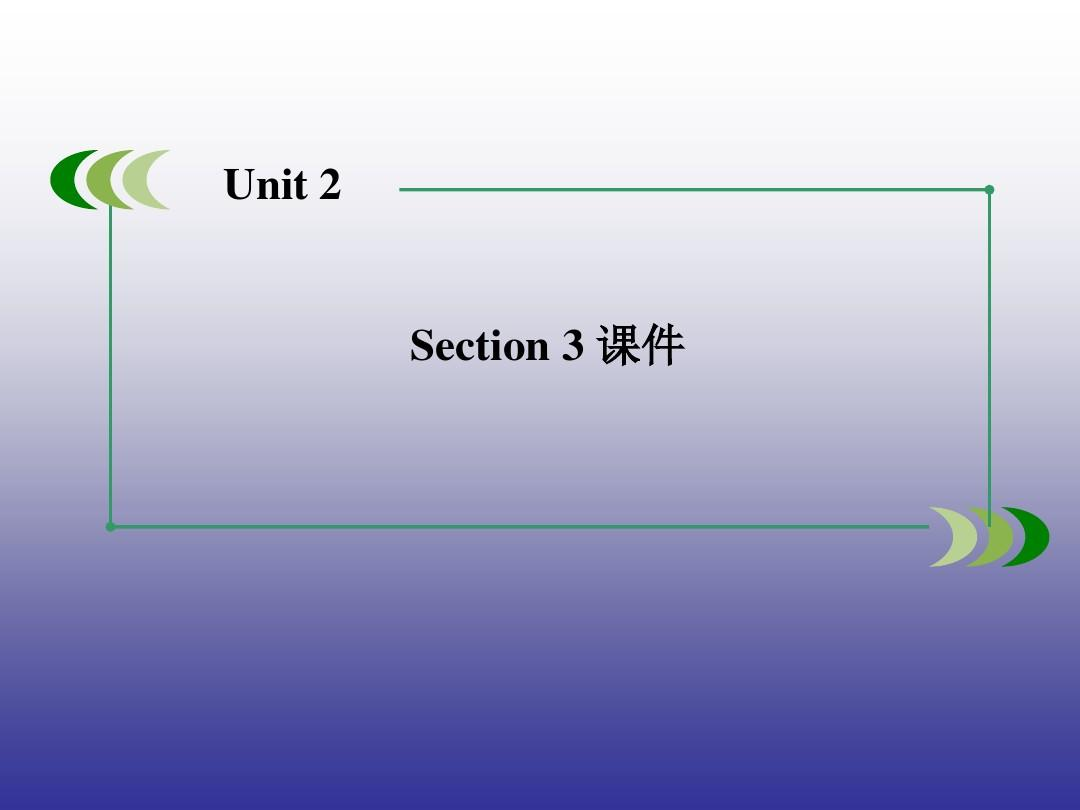 Unit 2 The United Kingdom  Section 3 课件-优质公开课-人教必修5精品PPT