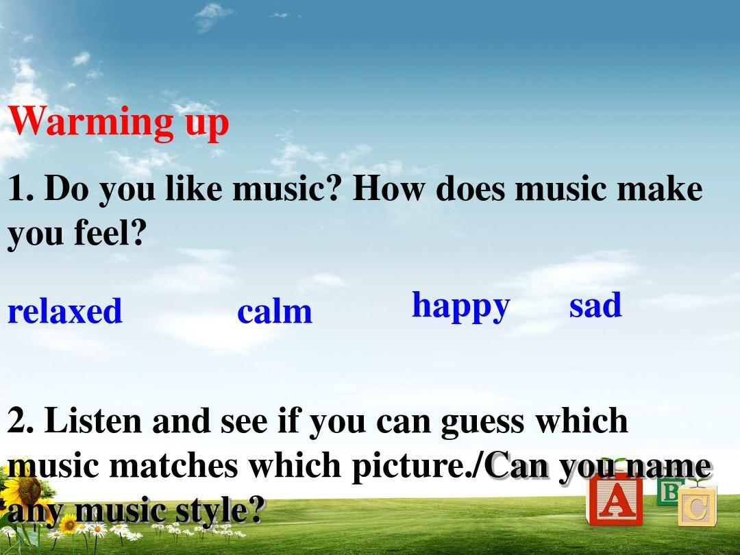 单元教版高中英语v单元二unit5_Music全新人课高中普洱录取图片