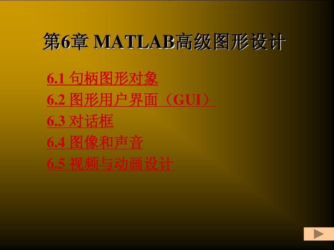 第6章MATLAB高级图形设计PPT广告设计征集大赛图片