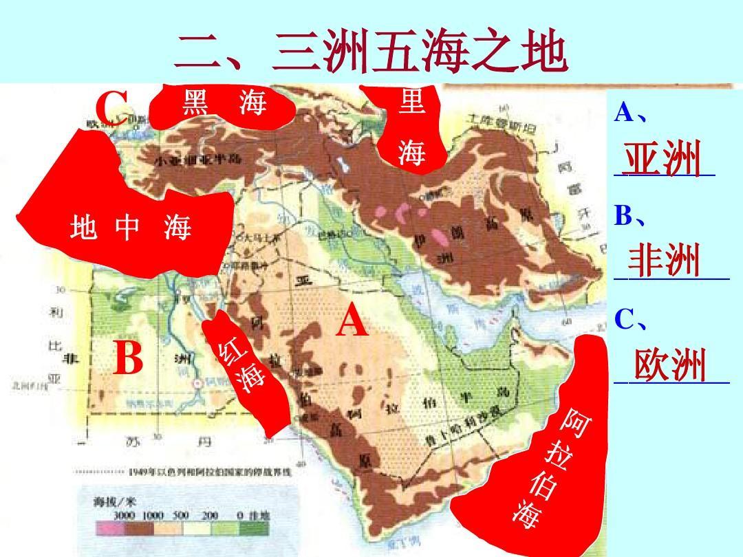 8.1中东 课件 5(人教新课标七年级地理下册)ppt图片