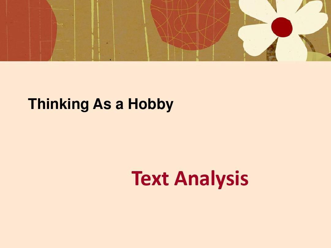Thinking_As_a_Hobby(中英文对照版)