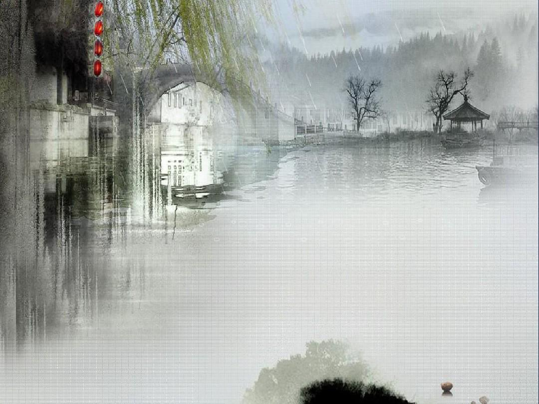 清新唯美ppt古风背景(35张)_word文档在线阅读与下载图片