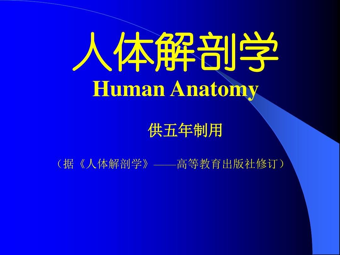 人体解剖学_人体解剖学-骨学