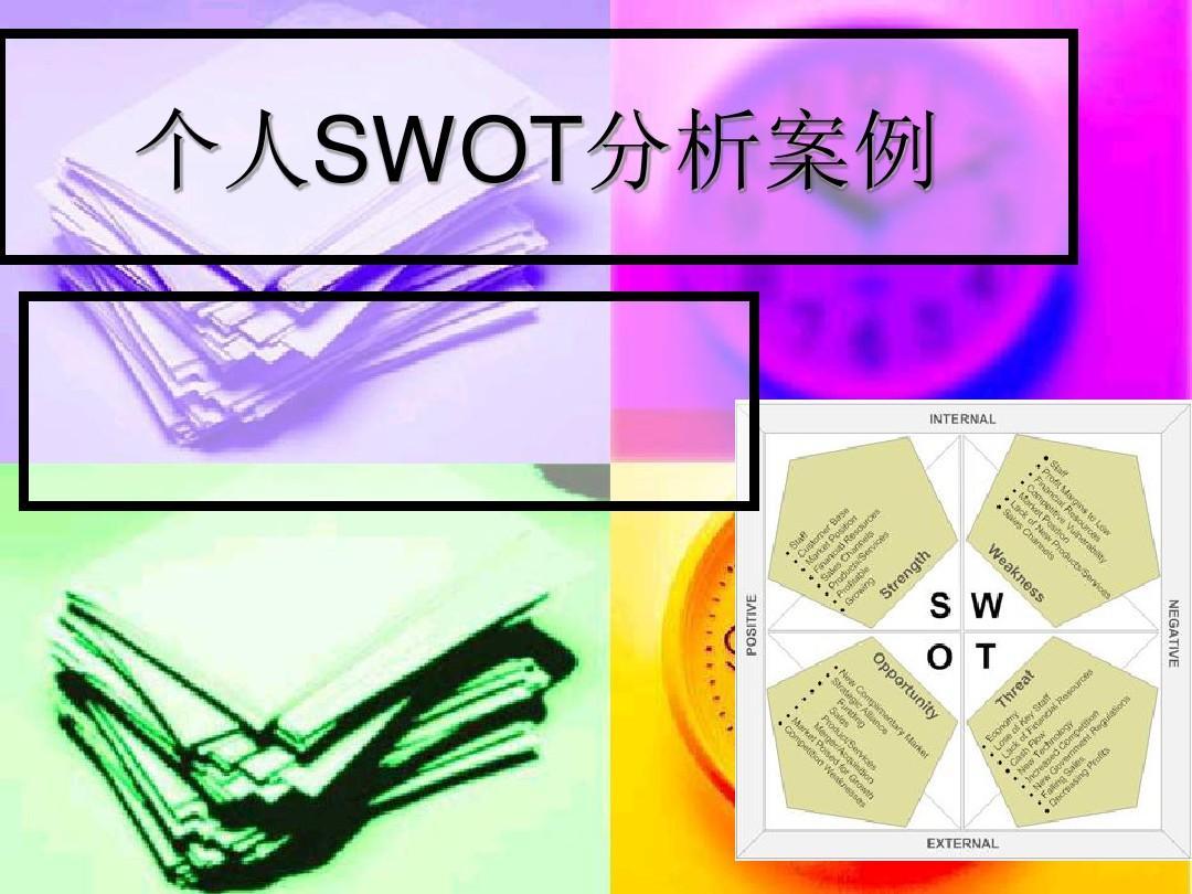 大学生swot分析范文_个人SWOT分析案例PPT_word文档在线阅读与下载_无忧文档
