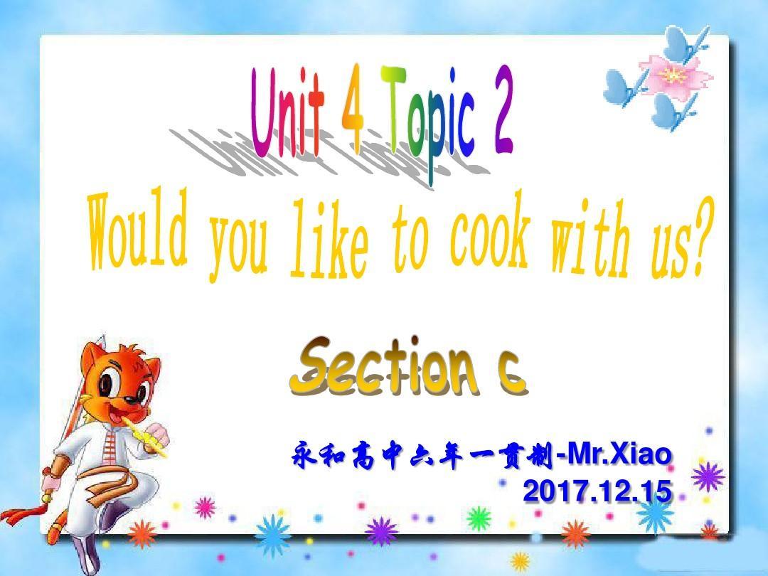 上册英语七仁爱年级Unit4-Topic2-SectionC(优小学生a上册v上册渗透教学设计图片