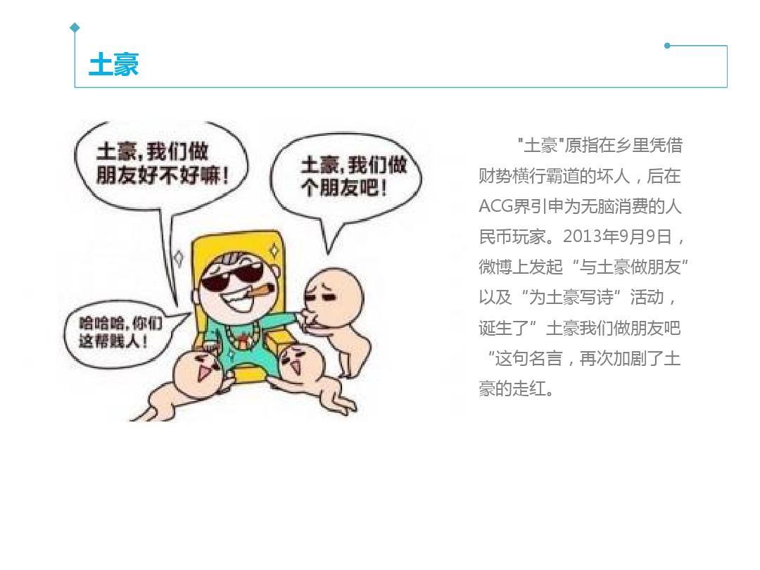 新火起来汉语之网络用语ppt