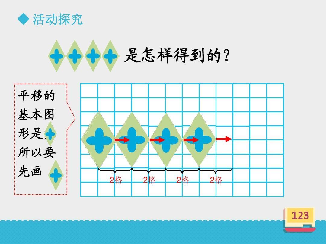 最新青岛版(五四制)小学数学四年级下册《对称平移旋转》优秀课件第2