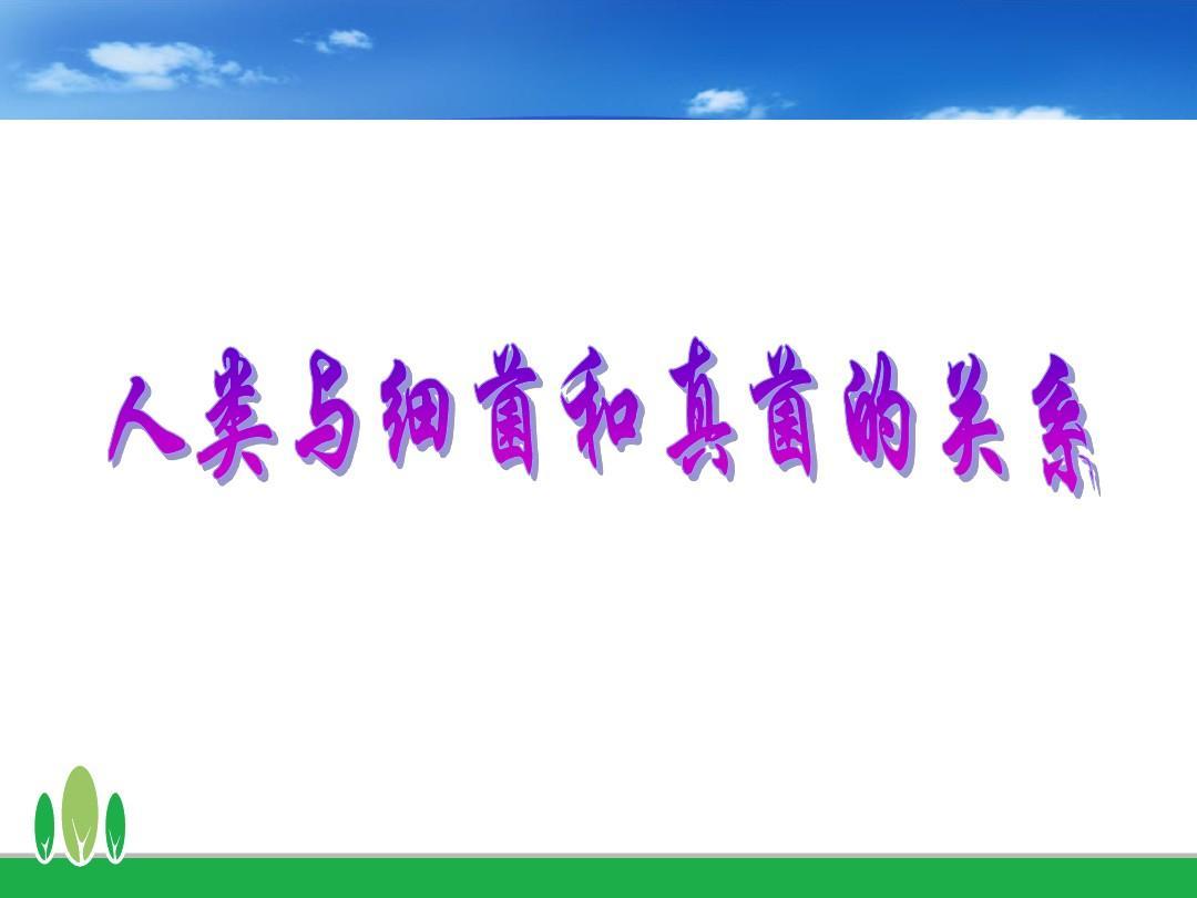 教学对真菌和人类的利用(说课稿)end3pptcantnobody舞蹈细菌图片
