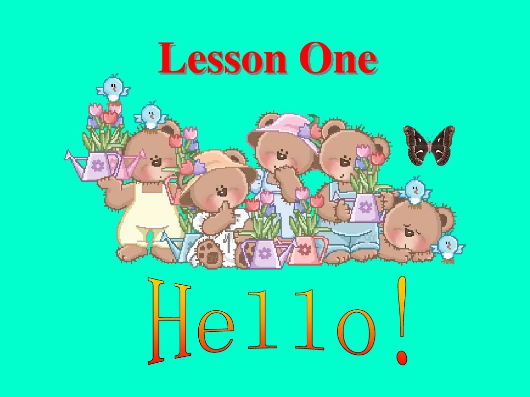 冀教版七年级英语上册Lesson 1