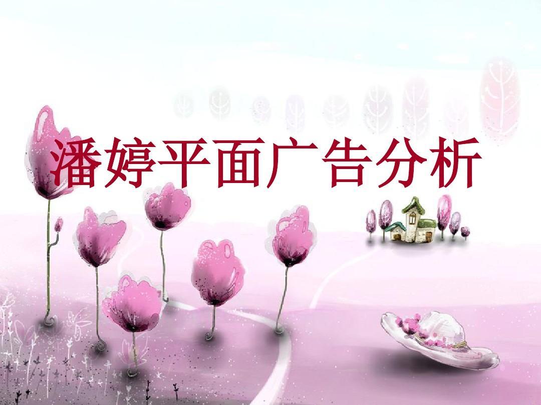 潘婷平面广告分析ppt图片