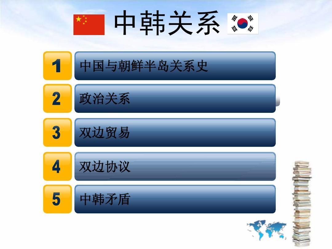 中国与朝鲜半岛关系史 政治关系 双边贸易 双边协议 中韩矛盾