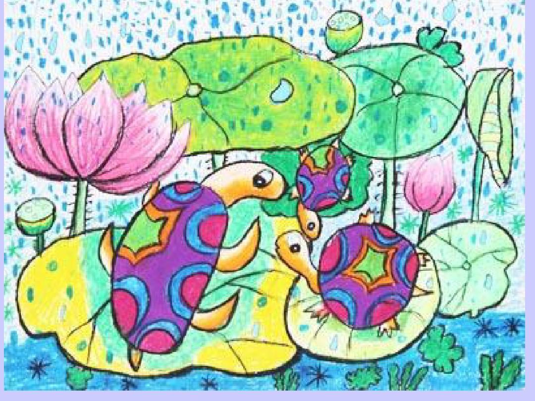 一年级美术_第四课《下雨啦》ppt图片