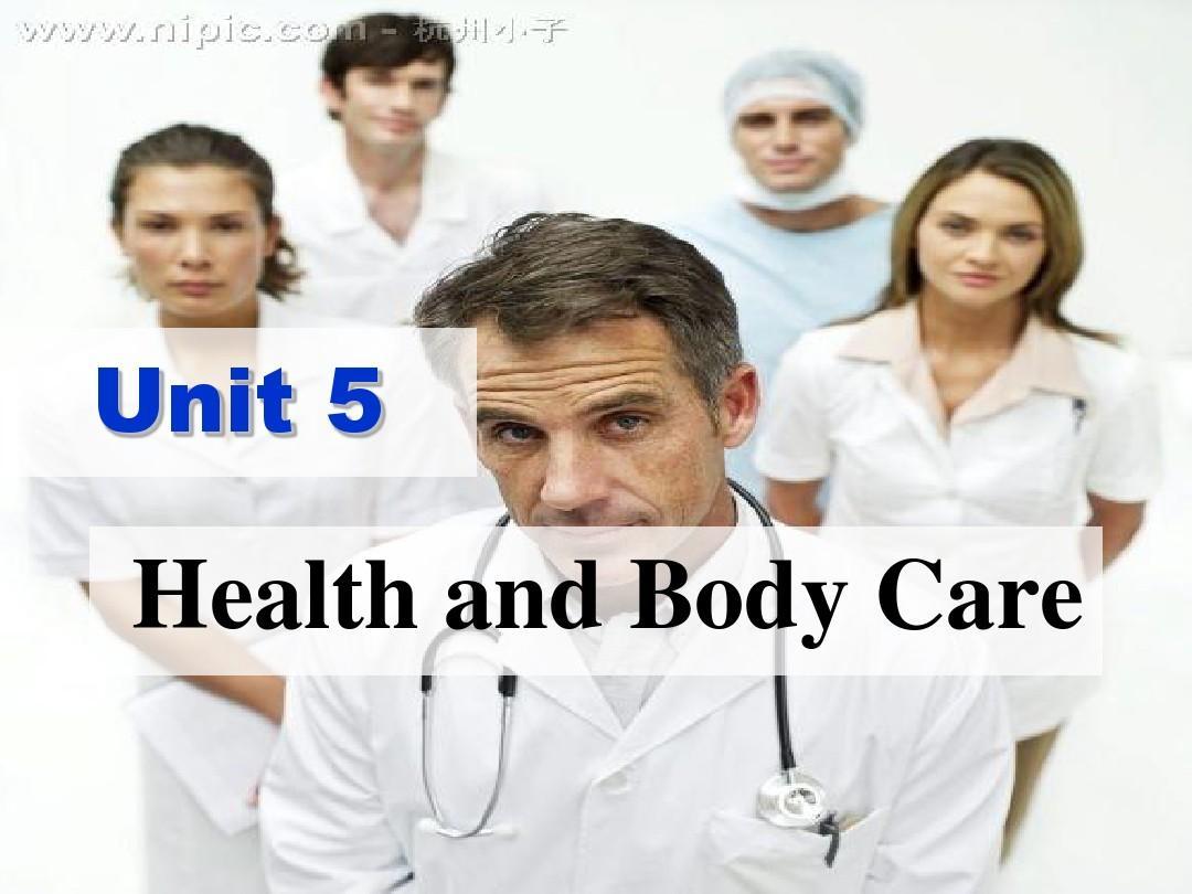 unit 5 health 健康PPT