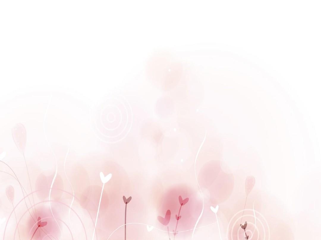 粉色淡雅小花ppt背景图片张图片