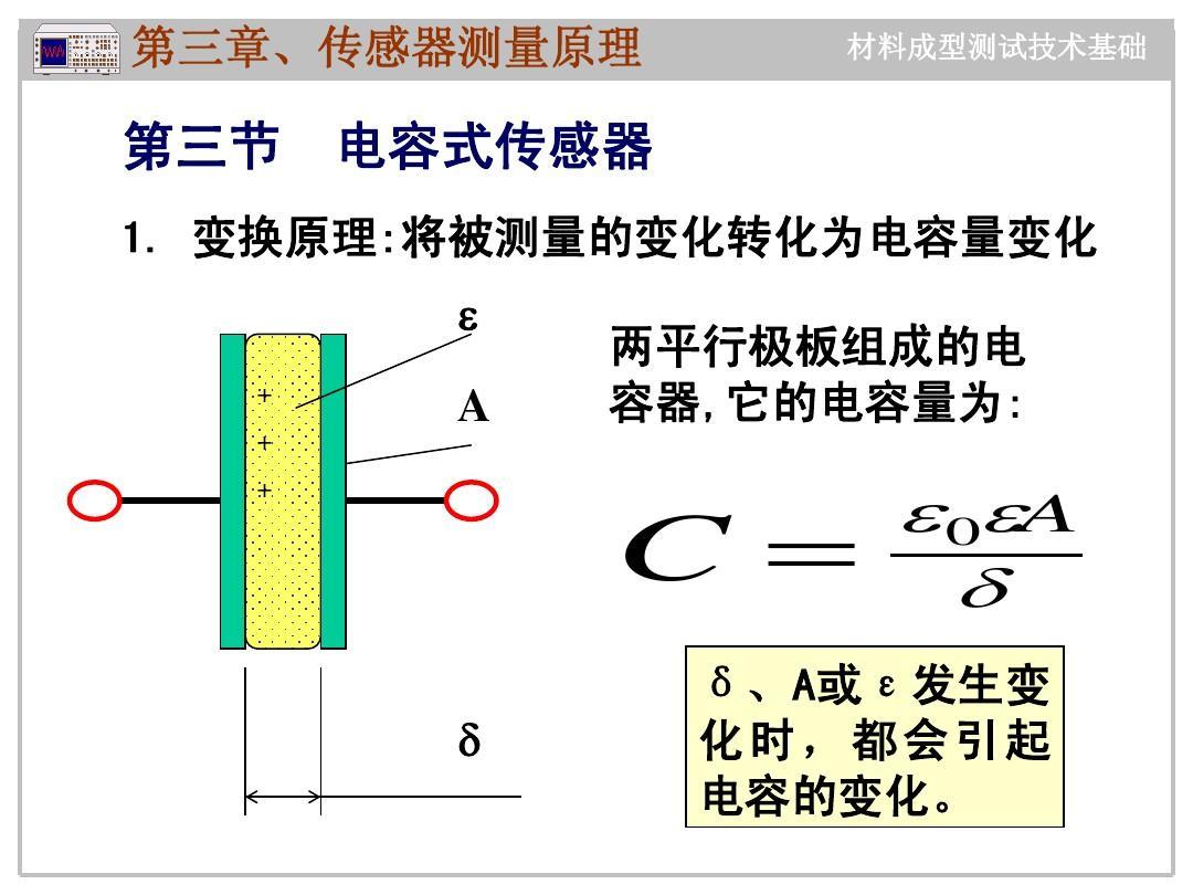 第二章 电容,电感,磁电传感器