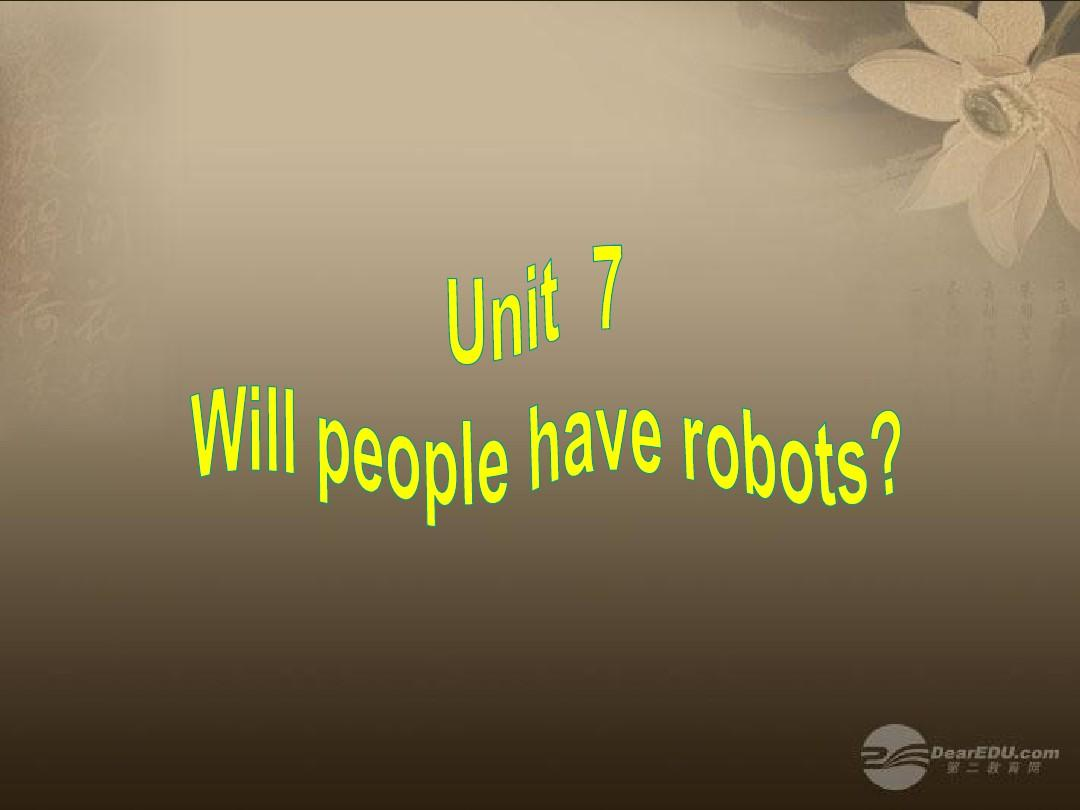 2013版新目标八上 Unit 7 Section A