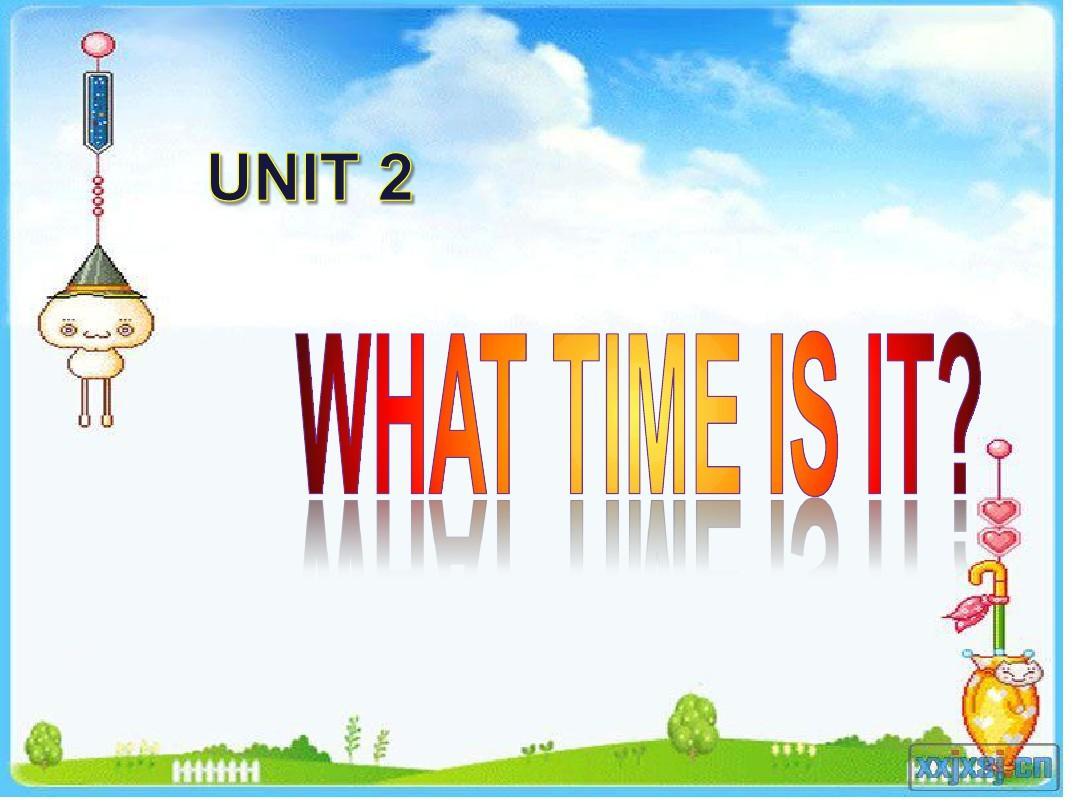 人教版四年级英语unit2_what_time_is_it?课件
