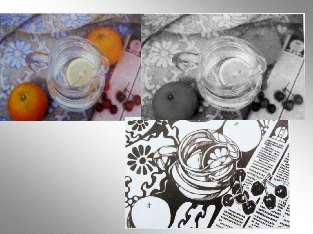 无忧文档 所有分类 初中教育 科学 黑白装饰画的美感ppt  第8页 (共12图片