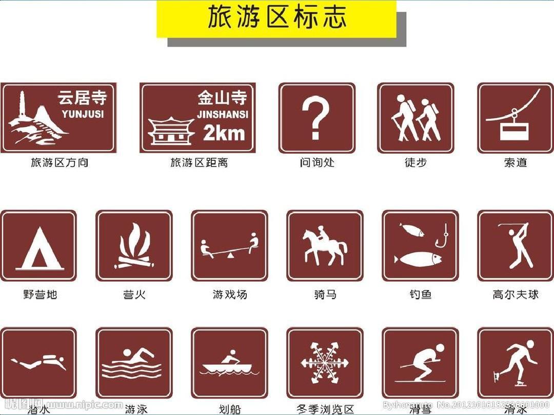 道路交通例文和经典PPT标志设计实验标线图片