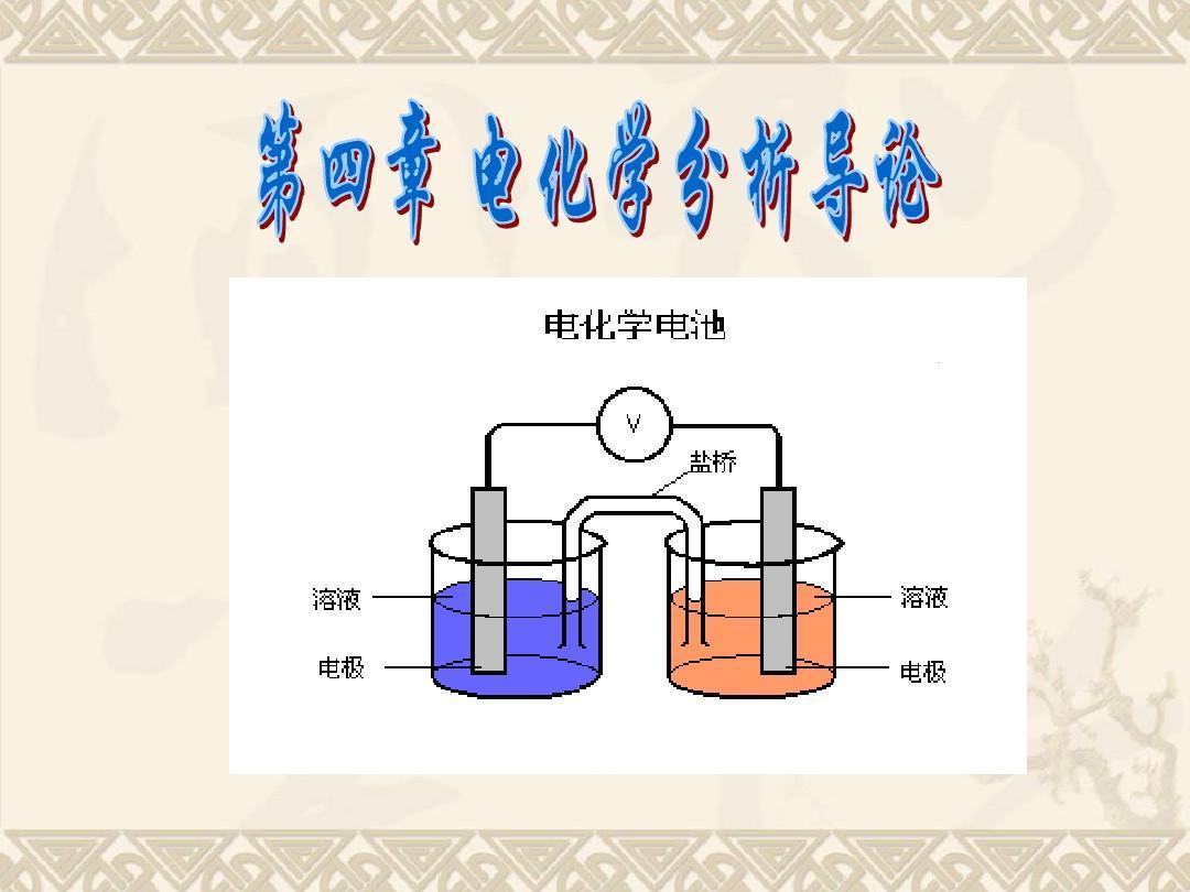 电化学分析法导论ppt