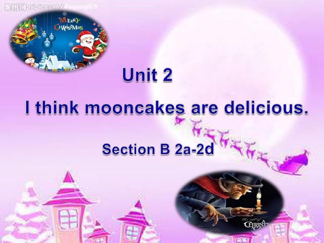 2014秋人教版九年级英语unit2 section B 2a-2d