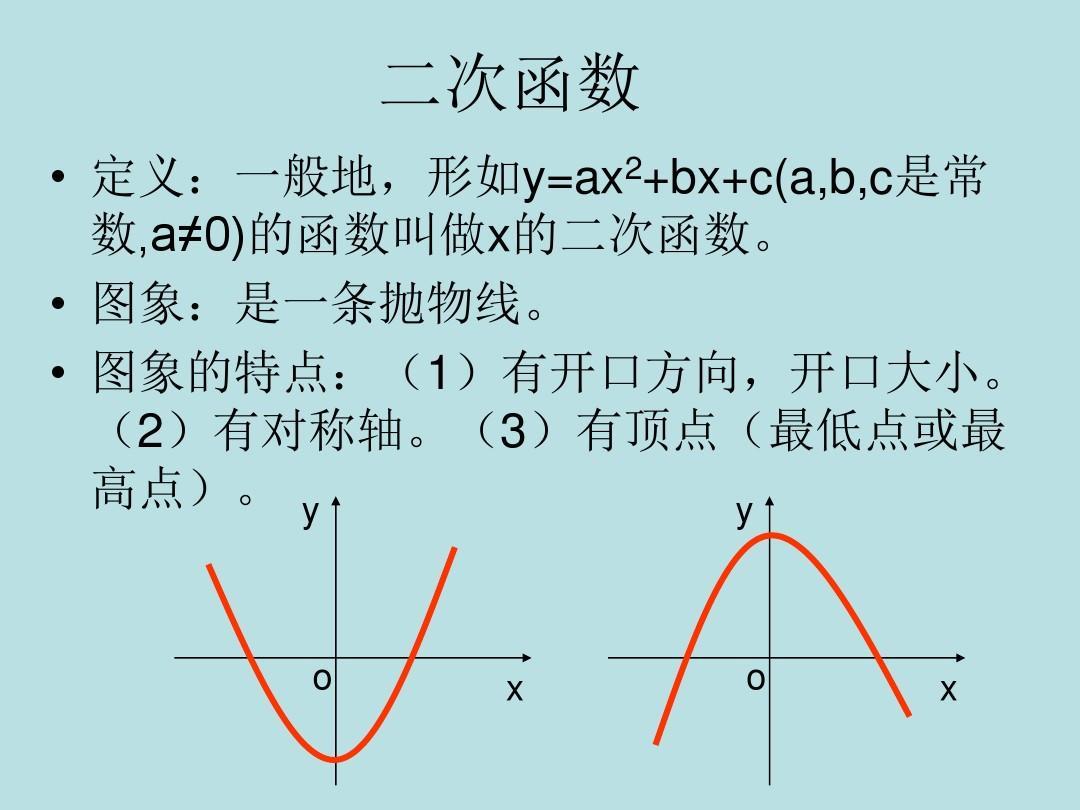 2.1 用函數觀點看一元二次方程課件 新人教版ppt圖片
