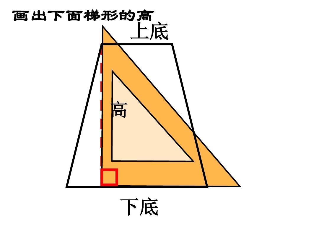 四年级上册平行四边形梯形画高课件ppt图片