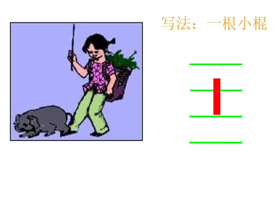 能够使小朋友在老师的口诀提醒下快速背诵出该拼音的正确读音 写法:一图片