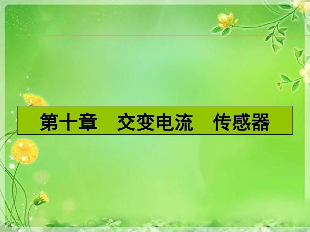 【湘教考苑】2016届高三(人教版)一轮复习物理-第10章课件 29单位