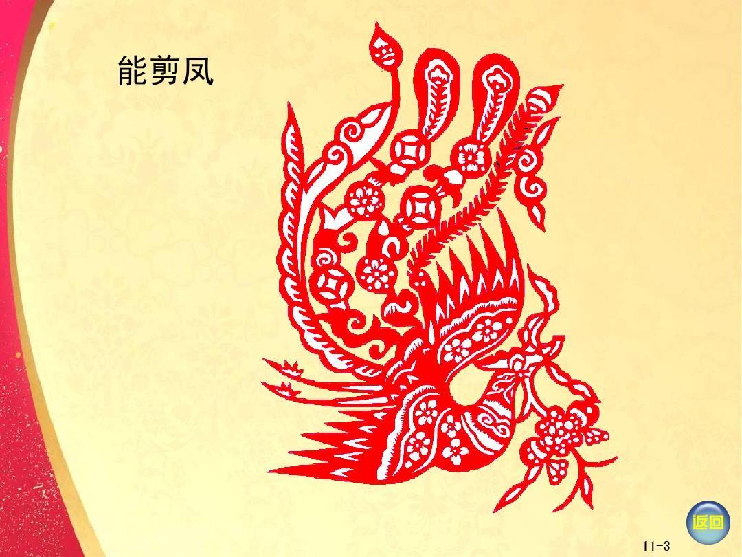 2014湘版美术二年级剪纸动物ppt