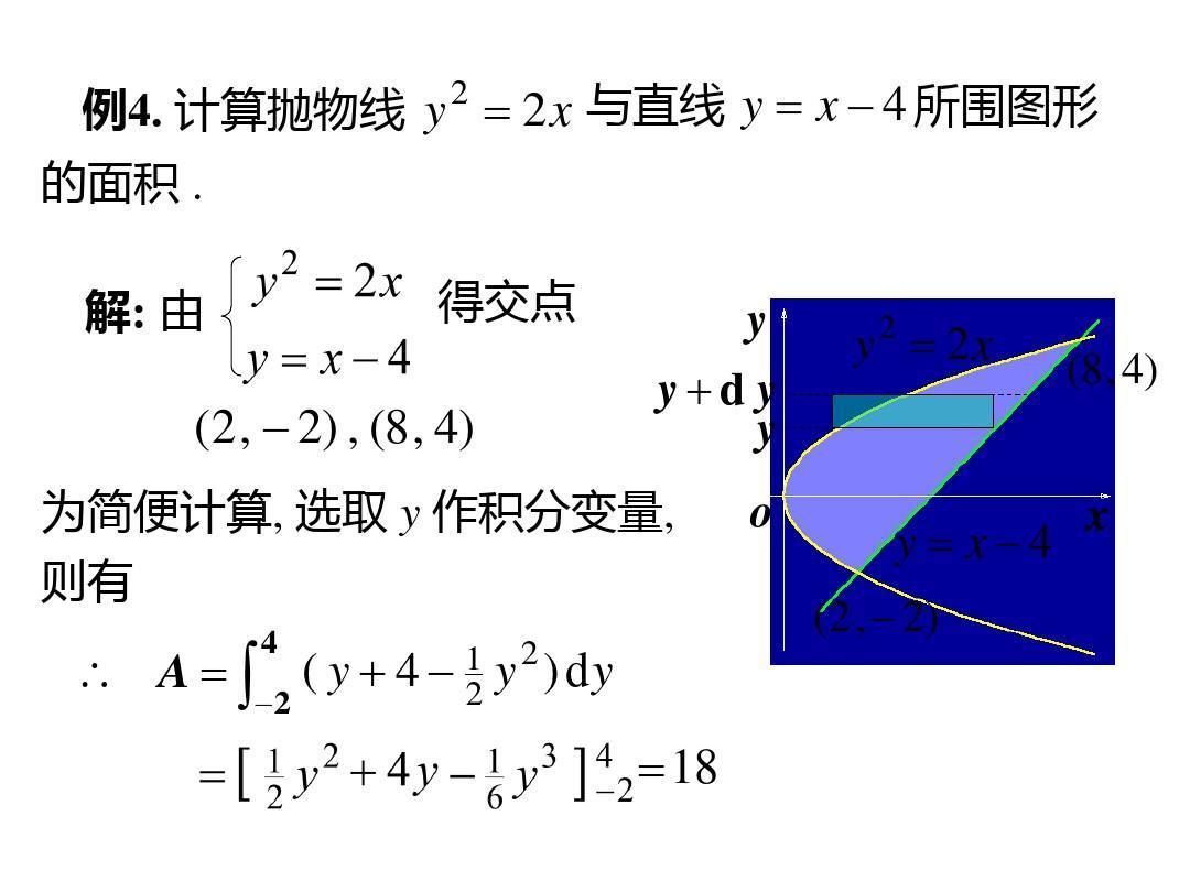 为什么定积分可算面积 还要用二重积分算面积