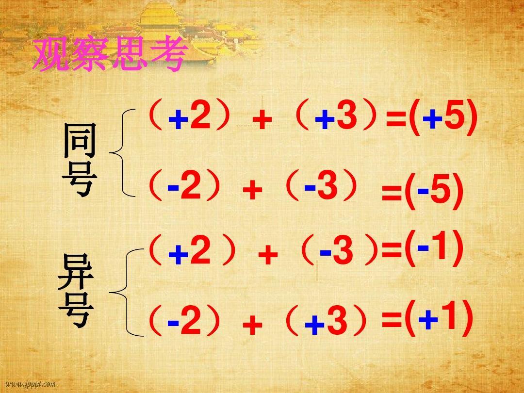 1有理数的内容教学设计(应该)青岛版(新)_数学_加法教育_教育.教学设计新版分哪些初中图片