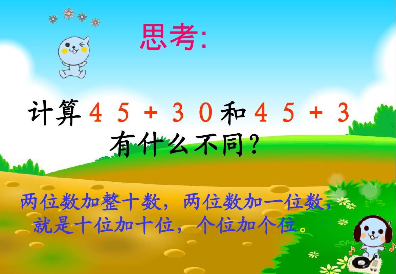 (苏教版)一位数和平数学年级_两位数加整十数或一下册我们热爱课件教学设计图片