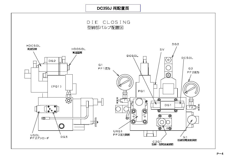 中文版东芝压铸机油圧回路说明(2011年8月起免费)ppt