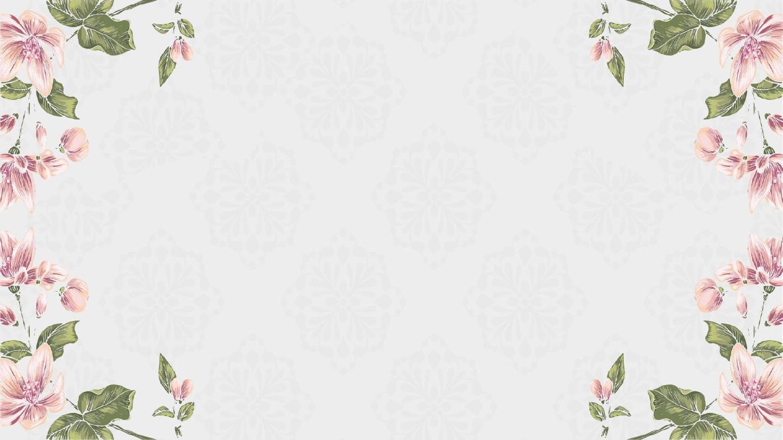 唯美復古花卉工作匯報實用ppt模板圖片