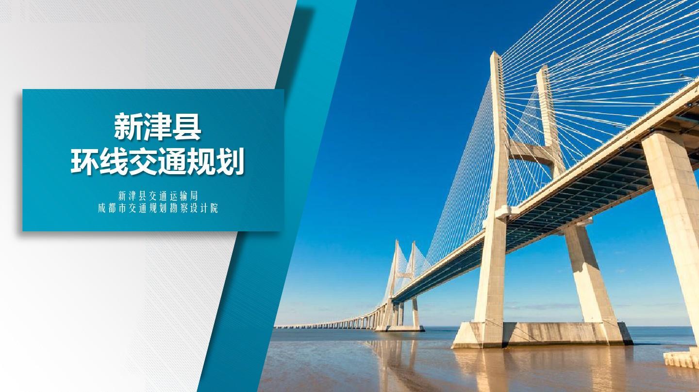 新津县环线交通规划——成都交通规划勘察设计院