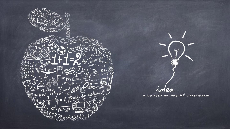 黑板手绘英伦风商务通用ppt模板(赠图标)图片