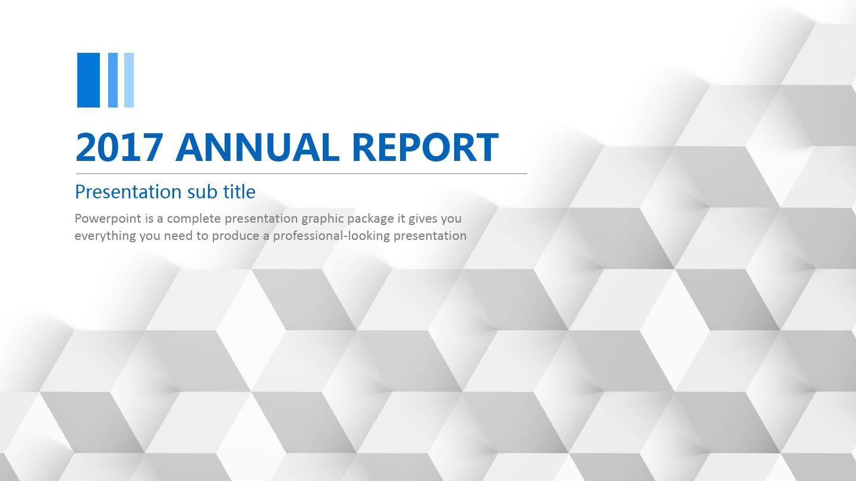 英文高档商务风格PPT模板年终总结报告PPT演