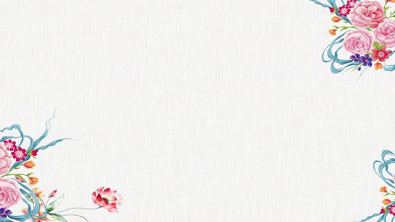 【精选】手绘花朵文艺小清新工作汇报通用ppt模板【ppt模板】
