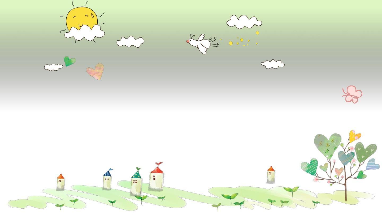【精选】可爱卡通小学生自我介绍简历动态ppt模板【ppt模板】图片