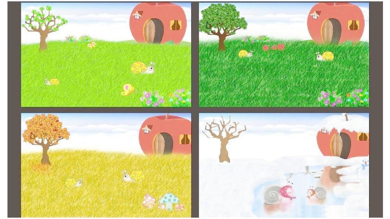 主题展开思路一览表(网络图) : (递进式) 多姿多彩的树叶  落叶飘飘图片