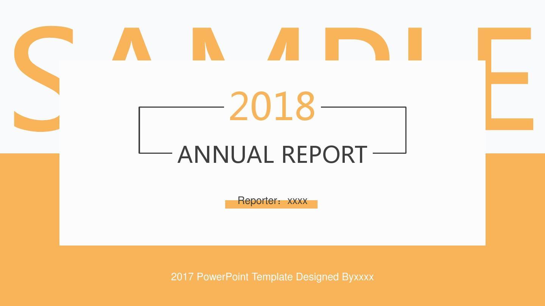 2018員工工作匯報ppt,員工述職報告ppt模板,企業年終總結ppt模板,清新圖片