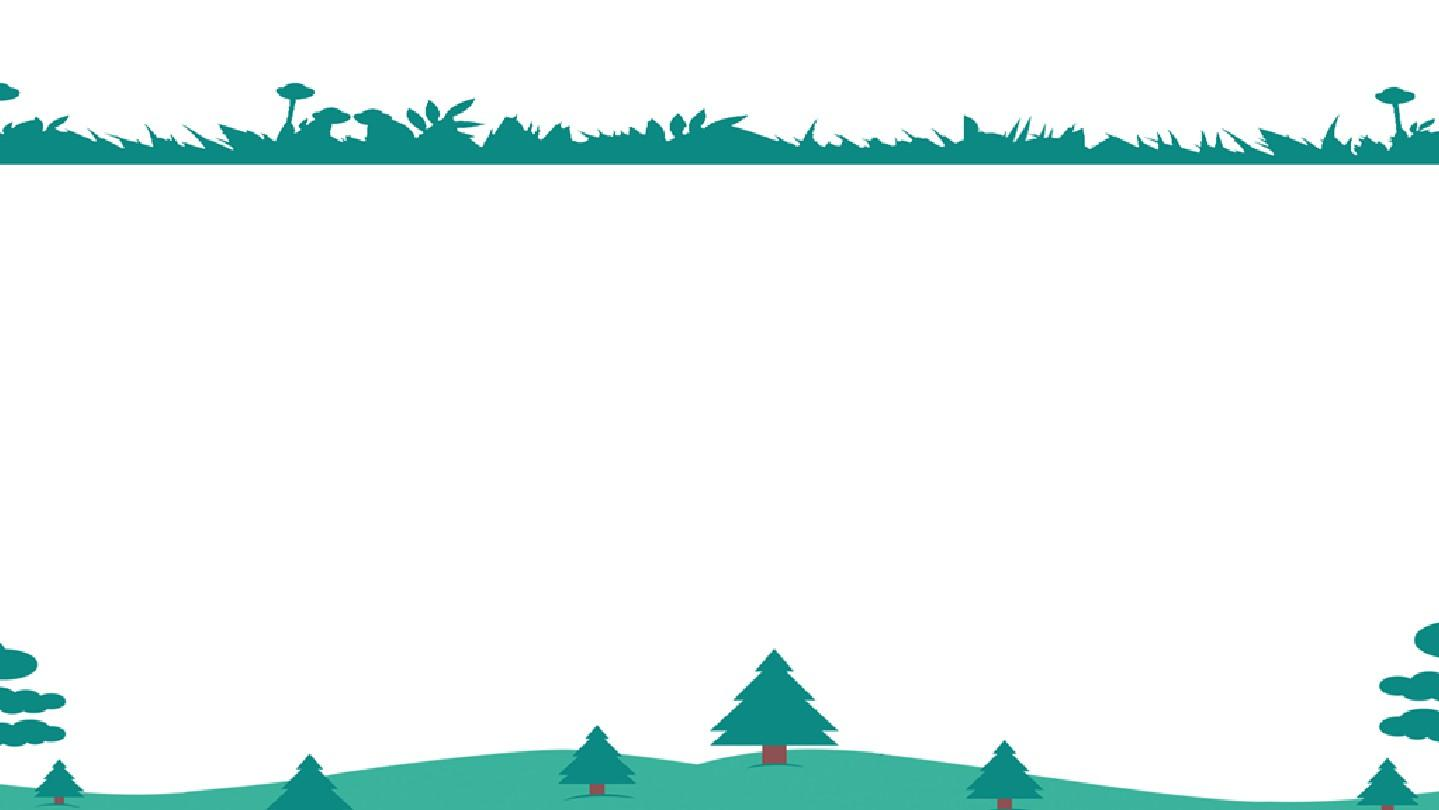 假期生活夏令营绿色卡通可爱简约风通用动态ppt模板素材方案图片