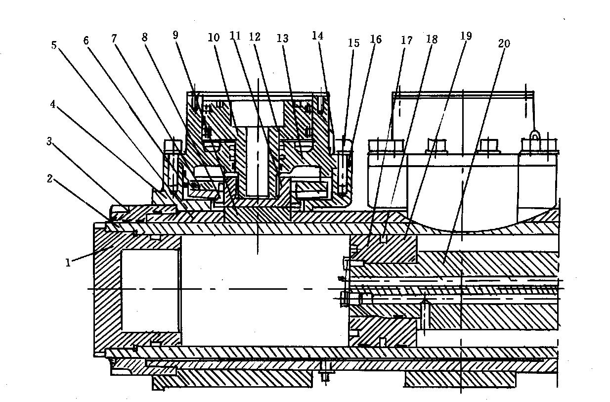 液压缸任意位置的自动闭锁技术图片